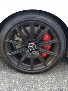 Mercedes Benz E63s Amg 19 Oem Wheels And Tires