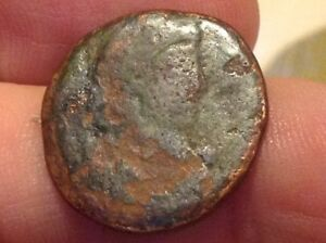 Roman Copper Coin Constantine Dynasty 305 363 Ad Back Germania Battle Scene