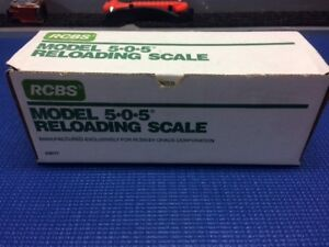 RCBS 505 Reloading Powder Scale with Box