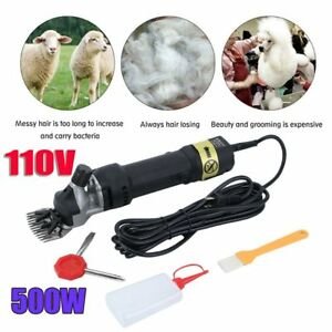 Electric Supplies Sheep Goat Shears Animal Shearing Grooming Clipper Black Wr