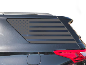 Chevy Traverse Usa Flag Decals Fits Rear Window 2018 2019 Lt Ls Premier Te7