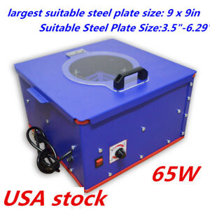 Usa Pad Printing Electric Emulsion Coating Machine For Steel Plate 3 5 6 29