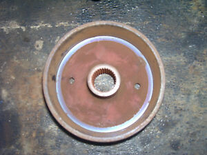 Vintage Ford 1210 3 Cyl Diesel Tractor brake Drum