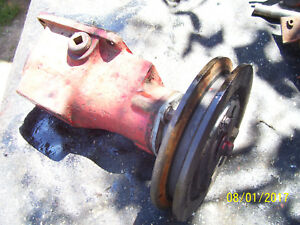 Vintage Ihc Farmall 140 Tractor belt Pulley Drive Assembly Works Ok 1974