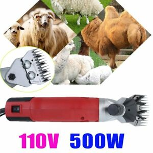 500w Electric Shears Shearing Clipper Animal Sheep Goat Pet Farm Machine Us Dr