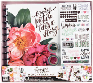 Happy Memory Keeping Undated 12 month Big Planner Box Kit every Picture Tells A