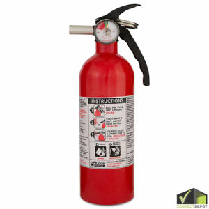 Kidde Fire Extinguisher Home Car Safety Dry Chemical Garage Kitchen Home 5 B c