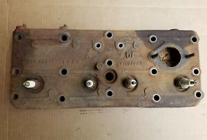Massey Harris 30 Tractor Engine Cylinder Head Motor Parts 4 Cylinder Flat Head