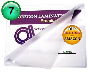Oregon Lamination Hot Laminating Pouches pack Of 100 7 Mil 9 X 11 1 2 Letter