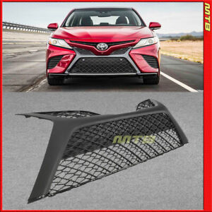 For 2018 2019 Toyota Camry Front Grille Lower Grill Bottom Bumper Insert Snap In