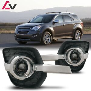 10 16 For Chevy Equinox Clear Lens Pair Oe Fog Light Lamp Wiring Switch Kit Dot