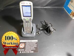 Handheld Products 9550l00 Bar Code Scanner Tested w 2x Bat Dock Warranty