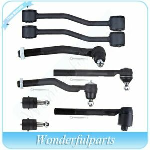 Fit Jeep Grand Cherokee 1999 2004 Ball Joint Tie Rod End Sway Bar Link 8pcs Kit
