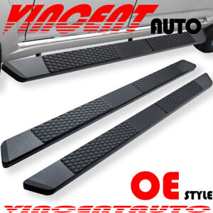 Fit 19 20 Dodge Ram 1500 Quad Cab 5 5 Side Step Running Board Nerf Bar Dw Black
