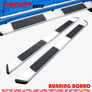 Fit 19 20 Dodge Ram 1500 Crew Cab 5 5 Side Step Running Board Nerf Bar S S Dw