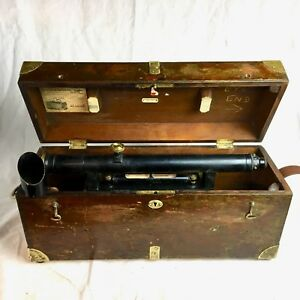 Vintage Keuffel Esser K e Transit Level Survey Instrument