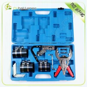 Piston Ring Tool Kit With Ring Groove Cleaner Auto Truck Cleaning Service Set