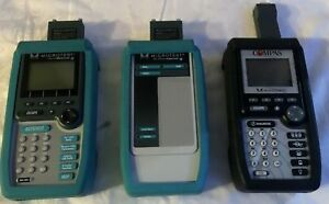 Lot Of 3 Cable Testers Fluke Microtest Compas pentascanner 2 way Injector Mod 8