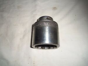 Vintage Snap On Ldh 642 3 4 Drive 2 Inch 12 Point Socket Free Shipping
