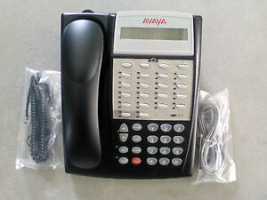 Avaya Lucent Partner 18d Series2 Black Business Office Phone 700340193 700420011