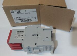 New Allen bradley 700s cf440ejc Safety Control Relay 8p 4no 4nc Contacts 20a