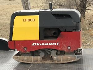 Dynapac Lh800 Diesel Reversible Trench Plate Compactor Wacker Wireless Remote Ln