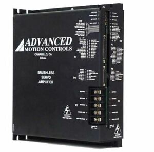 Advanced Motion Controls B100a40p Brushless Servo Amplifier 60 400v 100 Amp