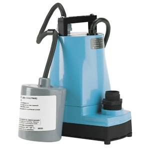 Little Giant 1 6 Hp Submersible Utility Pump With 120vac Voltage 5 asp fs