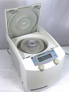 Beckman Coulter Microfuge 18 Centrifuge W Rotor Lid Working Microcentrifuge