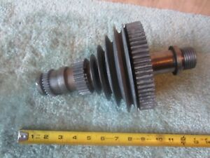 Early Vintage Atlas Craftsman 12 Lathe Headstock Complete Spindle Assembly