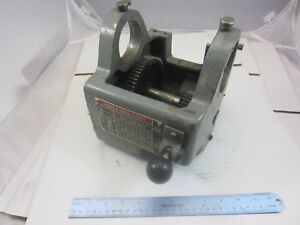 Atlas Craftsman 12 Commercial Lathe Headstock Casting With Back Gear Assembly