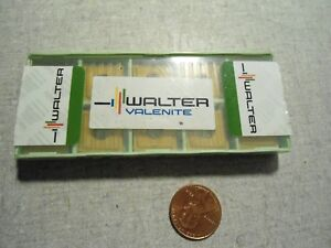 Walter P27477 3 Wap35 Carbide Inserts Lot Of 10