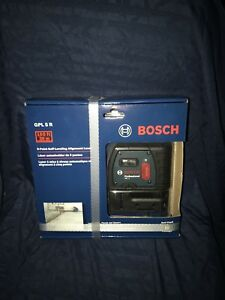 Bosch 5 point Self leveling Alignment Laser Gpl5r Brand New