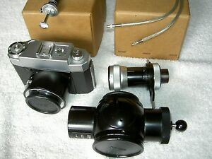 Zeiss 35mm Microscope Camera Mounting Adapter Beam Splitter Eyepiece