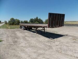 Trailmobile Equipment Trailer