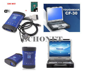 Cf 30 Toughbook Laptop With Gm Mdi Diagnostic Scanner Ready To Go