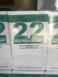 R22 Refrigerant 30 Lb New Sealed Usa r 22 Same Day Shipping