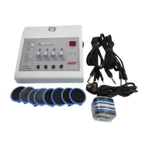 Electrotherapy Pain Relief Physiotherapy Machine 4channel
