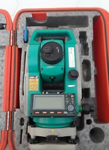 Sokkia Set630r Red Tech Ii Reflectorless Total Station Transit W