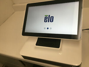 Elo Touch Solutions Esy17b2 7uwb 1 nb Pos Touch Screen Terminal Stand Tested