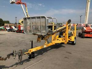 Aerial Telescopic Boom Lift Bil jax 3632t 36 Tow Articulating Manlift Electric