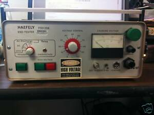 Haefely Psd 25b Esd Tester Price Reduced