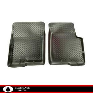Husky Classic Style Front Floor Mats Black For Jeep Liberty 2002 2007