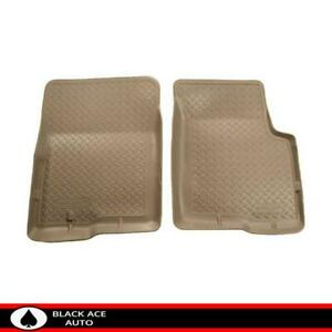 Husky Classic Front Floor Mats Tan For Ford Bronco F 150 F 250 F 350 1980 1997