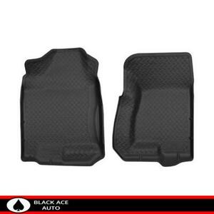 Husky Classic Front Floor Mats Black For Chevy Gmc Caddy Truck Suv 1999 07 Cc Ec