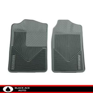 Husky Heavy Duty Front Floor Mats Grey For Gm Truck Suv 1988 2000