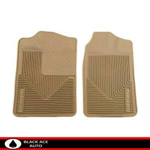 Husky Heavy Duty Front Floor Mats Tan For Gm Truck Suv 1988 2000