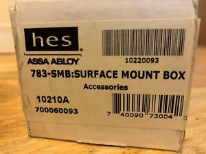 783 smb Surface Mounting Boxhes Electric Strikes Hes 11 Brand New Sealed Boxes