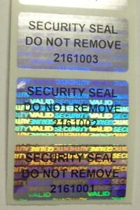 500 Svag Ssdnr Tamper Evident Warranty Void Labels Security Sticker Seals