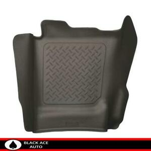 Husky X act Contour Center Hump Floor Mat Cocoa For Gm Truck 2014 18 Ec cc